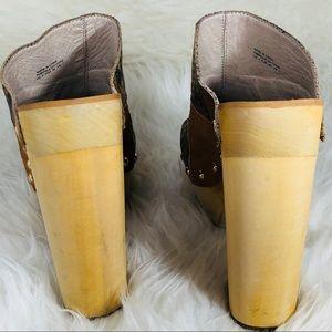 Shellys London Shoes - Shellys London Size 9 kitty tan platform sandals